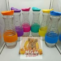 Botol Kaca 1L / Botol Air Dingin utk Kulkas / Water Jug Trandy