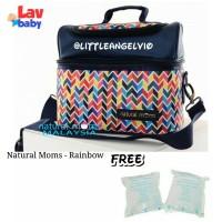 Natural Moms Rainbow cooler bag