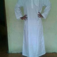 gamis pria putih by aamaleeq