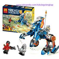 lele 79236 lego Nexo Soldiers lego Nick knights lele79236