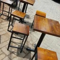 PROMO MEJA KURSI CAFE JATI BELANDA