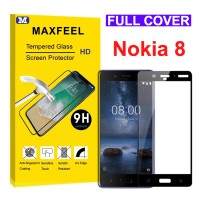 MAXFEEL Tempered Glass Nokia 8 Full Curved Premium Quality