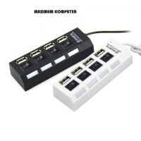 HUB USB 4 Port Saklar On/Off