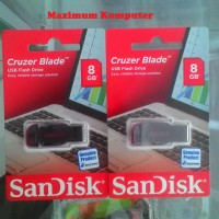 SanDisk CZ50 Flashdisk 8GB Cruzer Blade Original