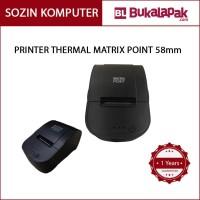 Printer Thermal MATRIX POINT TM-P58ii ManualL Cutter