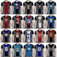 kaos 3d anime superhero spiderman iron man jaket bola murah