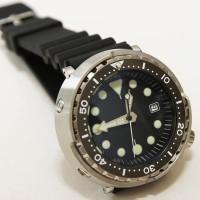 Jam Tangan Homage Watch Seiko Tuna SBBN015 Automatic Diver Watch ST1