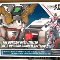 The Gundam Base Limited. RG RX-0 Unicorn gundam.