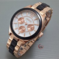JAM TANGAN WANITA GUESS CHRONO ON GOLDBLACK