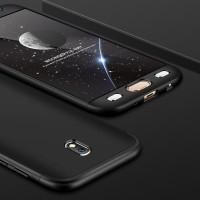 Case Samsung Galaxy J7 J3 PRO 2017 Free Tempered Glass Casing Full 360