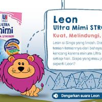 Susu UHT Ultra - MIMI 125ml STRAWBERRY