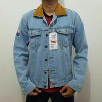 Jaket Dilan 1990 - Jaket Jeans Cowok Bioblitz
