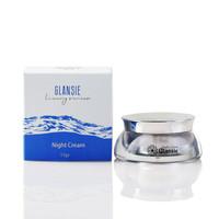 whitening night cream / malam glansie luxury series
