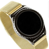 Tali Jam Samsung gear s2/s3 Classic Magnetic Stainless Steel Strap