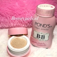 PONDS BB MAGIC POWDER OIL BLEMISH DOUBLE CONTROL UV PROTECTION