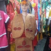 pakaian baju daerah adat irian barat motif kayu papua dewasa