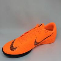 Sepatu futsal nike original Vapor 12 Academy IC orange/black mew 2018