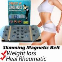 Sabuk pelangsing tubuh nikita slimming magnetic belt and massage