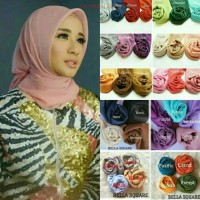 Bella square Hijab jelibab kerudung segiempat