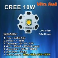 HPL CREE 10W Warm White XML Diameter 20 mm