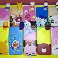 Softcase Peep Case Oppo F5/New/Case Intip/3D Cartoon/Softshell