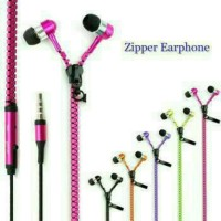 Universal headset unik bentuk resleting / zipper