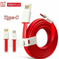 KABEL DATA ONEPLUS 2 3 USB TIPE C FAST CHARGING ORIGINAL 100% CABLE C