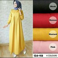 Tamara maxy dress Atasan wanita  Gamis Baju muslim