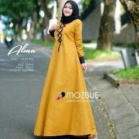 Alma dress Gamis wanita