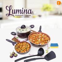 lumina cookware (7 pieces non stick)