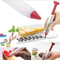 Pen Pastry / Spuit Pena Alat Penghias Kue Decoration Cake