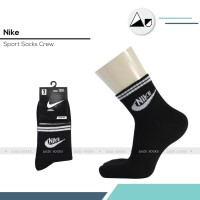 Kaos kaki olahraga Nike hitam mata kaki - Quarter sport socks