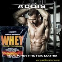 ADDIS Nature Whey Protein Matrix 10 lb 10lb New Package Original