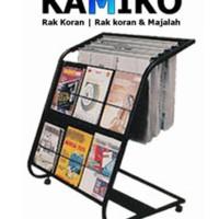 Stok Terbatas!! Rak Koran Dan Majalah Kamiko 611