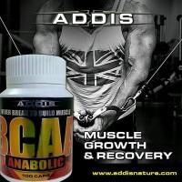 ADDIS Nature BCAA Anabolic 100 Caps New Original