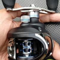 Reel baitcasting LMA200 11 ball bearing handle kiri