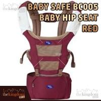 Baby Safe BC005 Baby Hip Seat Red Gendongan Anak Bayi