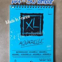 ATK465CS 074959 A4 30lbr Watercolour Sketch Book Aquarelle CANSON BUKU
