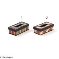 tempat tissue kotak tissue anyam