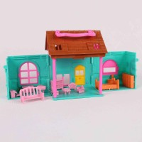 mainan rumah rumahan villa barbie anak play house