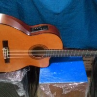 gitar classic nilon elektrik yamaha