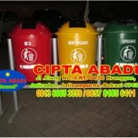 Tempat Sampah Fiberglass Organik Non Organik Dan B3