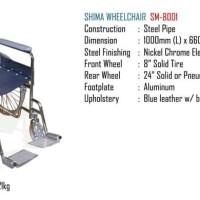 Shima Wheelchair SM-8001 (Kursi Roda)