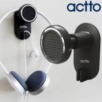 ACTTO BSH-03 Glitter Headset Holder - Wall Headphone Hanger BLACK