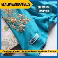 Gendongan Kaos Geos Instan 2 in 1 Baby Wrap Samping Depan Tosca Izzati