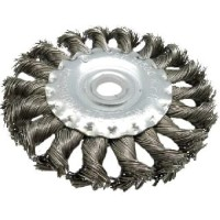 Sikat kawat Wire Brush Stainless steel / TWISTED KNOT WHEEL BRUSH 4