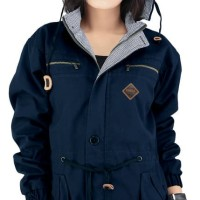 Raindoz Jaket Wanita Navy Branded - Raindoz RNJ 014