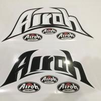 stiker helm. sticker airoh.