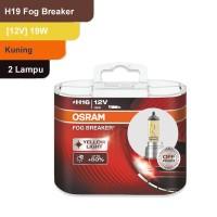 Osram Lampu Kabut Mobil H16 Fog Breaker 12V 19W - 62219FBR - Kuning