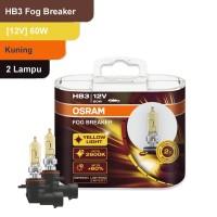 Osram Lampu Kabut Mobil HB3 Fog Breaker 12V 60W - 9005FBR - Kuning